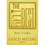 best vodka gold medal 2014